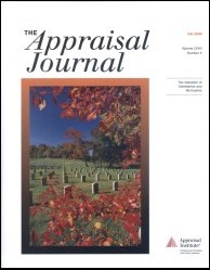 The Appraisal Journal, Fall 2008